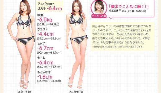 エルセーヌの70分のフルコース合計-8cmやせる体験が500円?