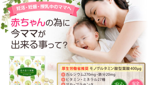 BABY葉酸ママの恵み