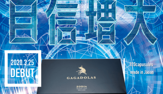 ガガドラスは男性の自信増大に特化したサプリ